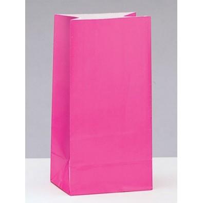 Sachet Papier Rose Fushia Cadeaux aux Invités