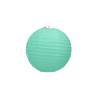 Boule de Papier Vert Pastel Mint Menthe Lanterne 20 cm