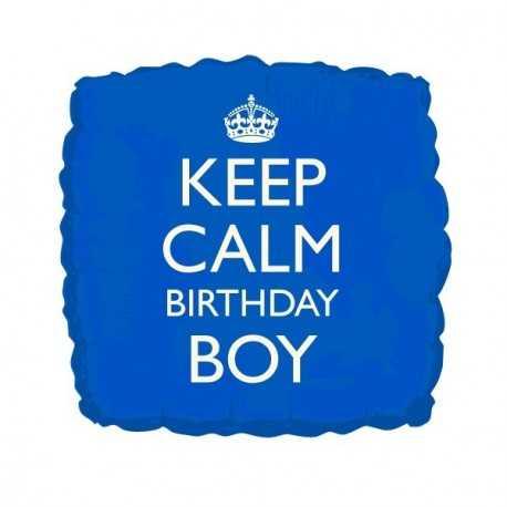 Ballon Keep Calm Birthday Boy