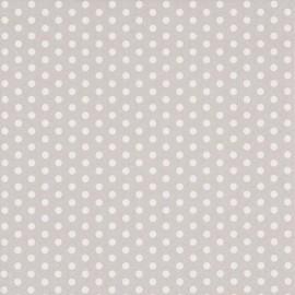 Serviettes en Papier Gris A Pois Blanc