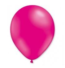 8 Ballons Nacrés Gonflables Latex Rose Fushia Fête
