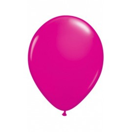 10 Ballons Gonflables Latex Rose Fushia Fête
