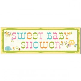Banderole Géante Sweet Baby Shower