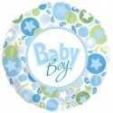 Ballon Baby Boy Bleu et Vert