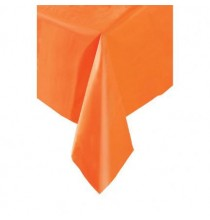 Nappe Plastique Orange Lavable