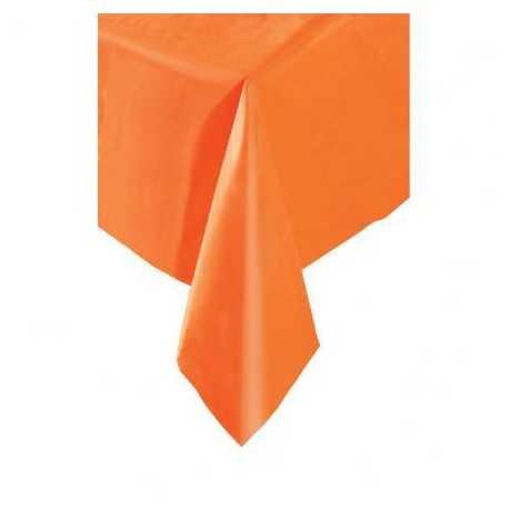 Nappe Plastique Orange Lavable