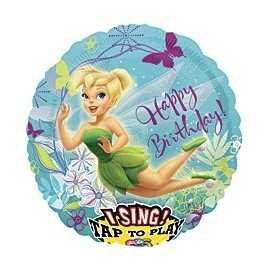 Ballon qui chante Géant Fée Clochette Disney