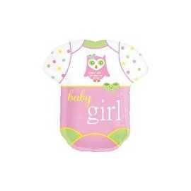 Ballon Géant en Forme de Body Baby Girl