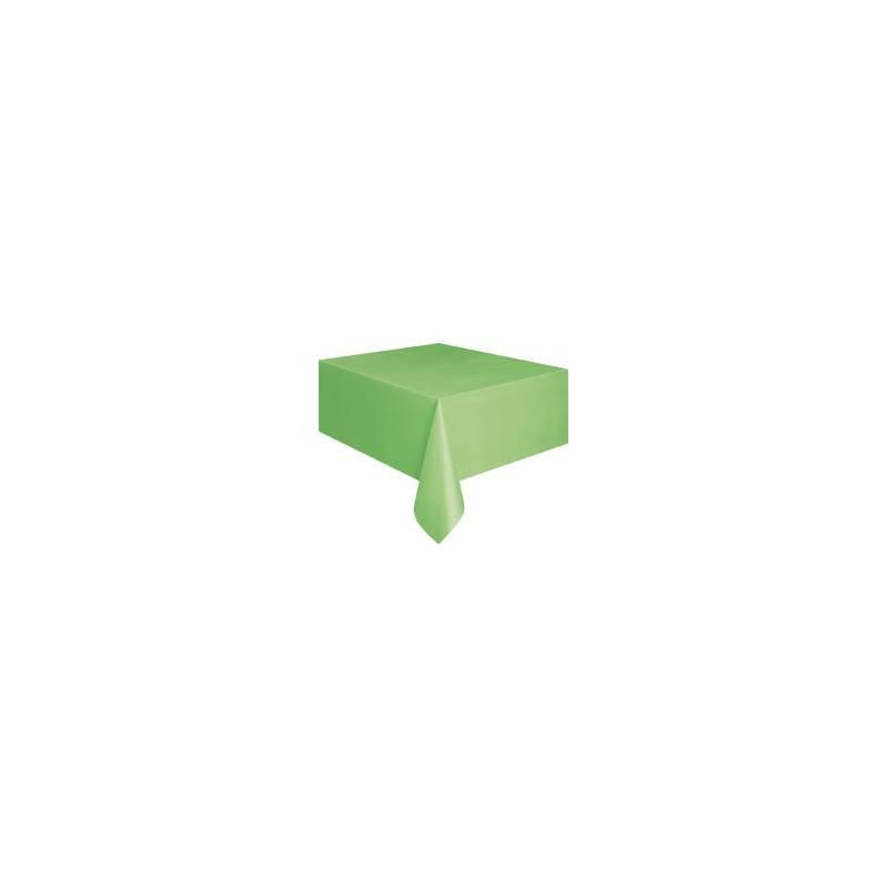 nappe plastique verte uni lavable pour votre f te. Black Bedroom Furniture Sets. Home Design Ideas