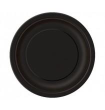 Grandes Assiettes Papier Noir