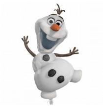 Ballon Géant Reine des Neiges Disney pour Anniversaire et Fête Olaf Bonhomme de neige