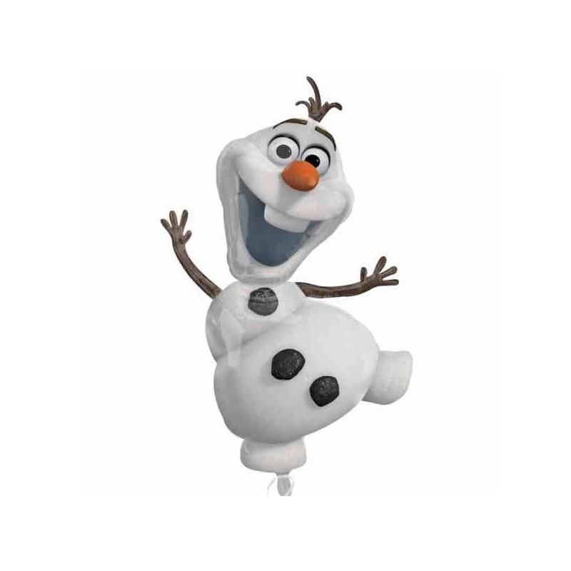 Ballon g ant reine des neiges elsa et anna pour - Bonhomme de neige olaf ...