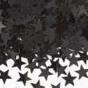 Confettis étoiles noires Décoration de fête