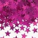 Confettis étoiles rose fushia Décoration de fête