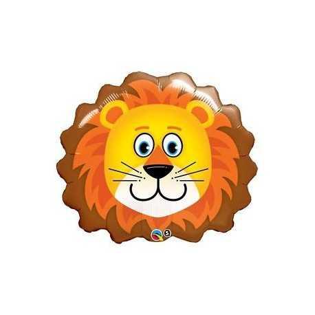 Ballon Hélium Géant Lion Roi de la Jungle