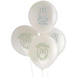 8 Ballons Latex Baby Miffy Baby Shower