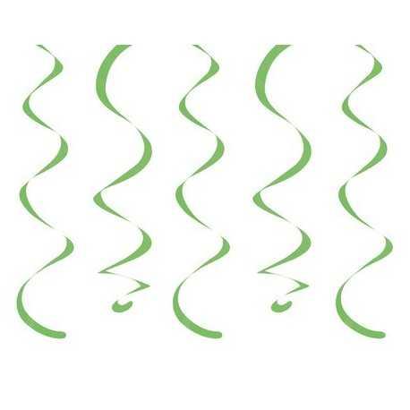 10 Décorations à Suspendre - vert anis