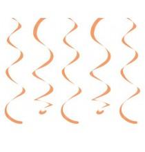 10 Décorations à Suspendre - orange