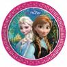 Grandes Assiettes Reine des Neiges Disney pour Anniversaire et Fête Elsa et Anna