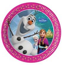 Petites Assiettes Reine des Neiges Disney pour Anniversaire et Fête Elsa et Anna