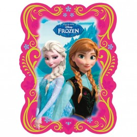 Carte d'invitation Anniversaire Reine des Neiges Disney