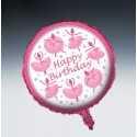 Ballon Géant Happy Birthday Anniversaire