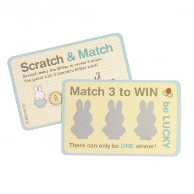 10 Cartes à Gratter Baby Miffy