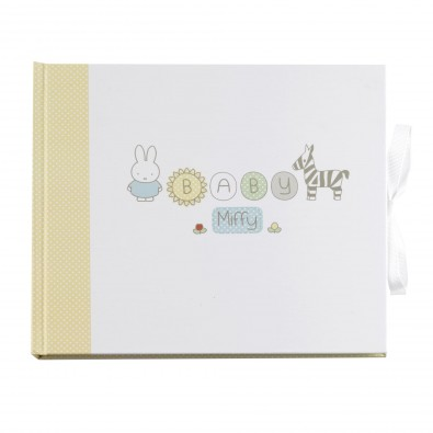 Livre D Or Baby Miffy Pour Vos Fetes Baby Shower Anniversaire