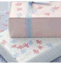Confettis Tiny Feet Rose et Bleu