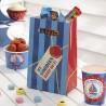 Sachets Cadeaux vités Premium Anniversaire Happy Birthday Thème Petit Bateau