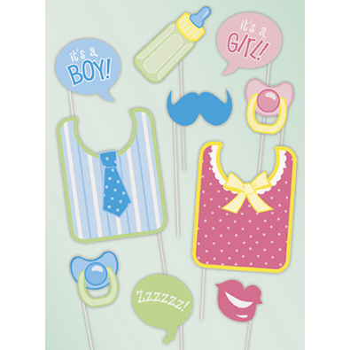 accessoires photobooth pas cher pour baby shower et f te de naissance. Black Bedroom Furniture Sets. Home Design Ideas