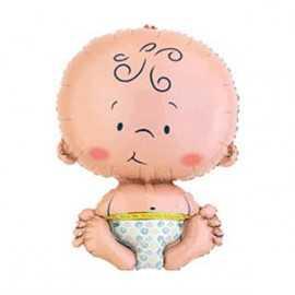 Ballon Géant en Forme de Bébé