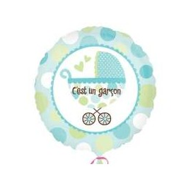 Ballon C'est un Garçon Naissance Bébé Garçon