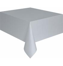 Nappe Plastique Table Grise Lavable