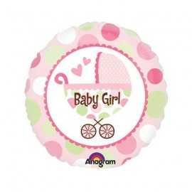 Ballon Fille Naissance Baby Girl