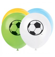 8 Ballons latex Anniversaire Thème Football Ballon de Foot