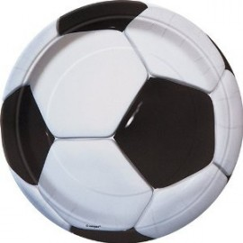 Grandes Assiettes Football Ballon de Foot