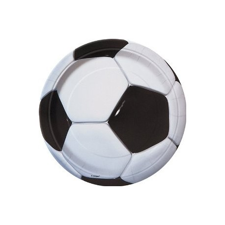 Petites Assiettes Football Ballon de Foot