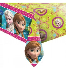 Nappe en Plastique Reine des Neiges Disney pour Anniversaire et Fête Elsa et Anna