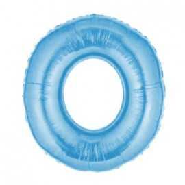 Ballon Géant Alu Bleu Clair 0 Ans Fête d'Anniversaire