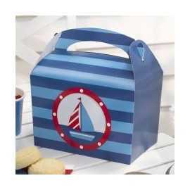 Boîtes Cadeaux Invités Premium Anniversaire Happy Birthday Thème Petit Bateau