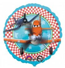 Ballon Hélium Rond Anniversaire Planes Disney Avion Joyeux Anniversaire
