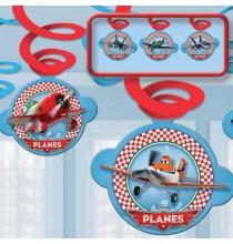 6 Guirlandes à Suspendre Anniversaire Planes Disney Avion Joyeux Anniversaire