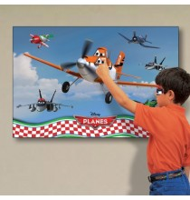 Grand Poster Animation Anniversaire Planes Disney Avion