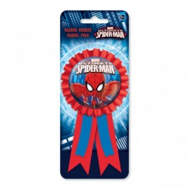 Cocarde 3D Spiderman Anniversaire