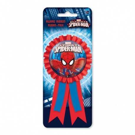 Cocarde 3D Spiderman Anniversaire