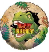 Ballon Alu Dinosaure Tyrannosaure Anniversaire pour Enfant