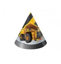 Chapeaux de fête Anniversaire Chantier de Construction