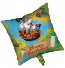 Ballon Hélium Anniversaire Chasse aux Trésors de pirates