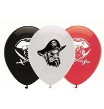 Ballons latex Anniversaire Chasse aux Trésors de pirates